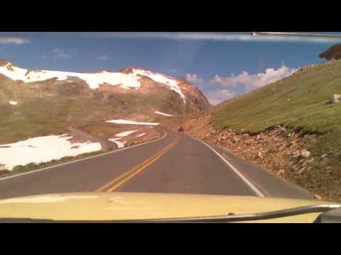 Redlodge Montana to Cooke City Montana via the Beartooth highway