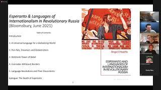 Esperanto in Revolutionary Russia - Brigid O'keeffe