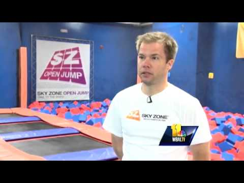 Trampoline park opens in Columbia