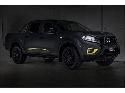 FULL WRAP - 2018 Nissan Navara NP300 MATTE BLACK - YouTube