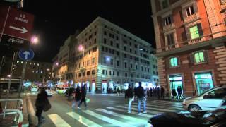Vatican City at night - Papal Visit 2015 Philippines 1/8/2015