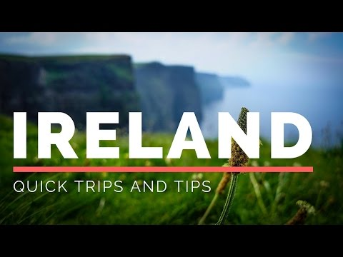 Quick Trips and Tips: Galway Ireland and Cliffs of Moher