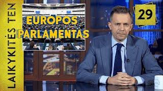 Europos Parlamentas ir klajojantis pitbulis || Laikykitės ten su Andriumi Tapinu || S03E29