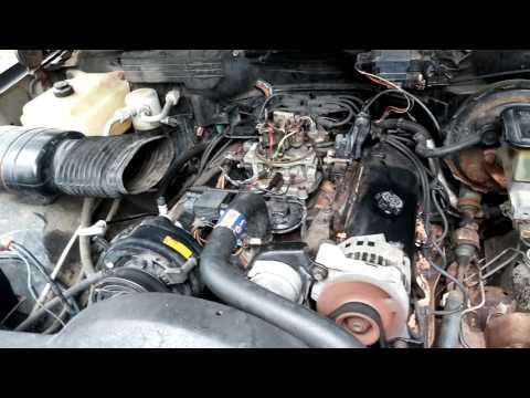 1991 GM 7.4L 454 Complete Engine TBI