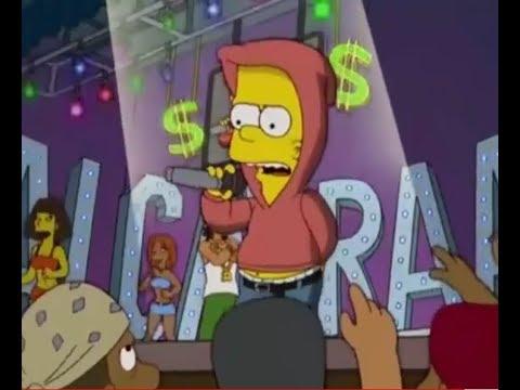 Bart cantando Tu no metes cabra| Bart Bunny