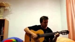 Enrique iglesias - Bailando- cover guitarra (ibanez g500) TUTORIAL