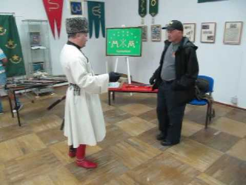 Master Felix Nalkov and Master Marc Lawrence Meeting