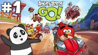 Panda Angry Birds Go! Oynuyor - Birinci Bölüm
