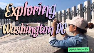 [Travel Vlog] The Capital - Washington DC!!
