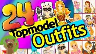 Cała książeczka Topmodel  Fantasy Model | 25 strojów z bajki: księżniczki, syrenki, wróżki