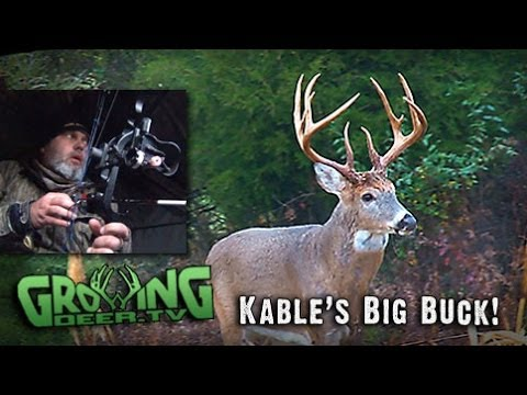 Bow Hunting The Rut! Tagging A BIG Indiana Buck! (#208) @GrowingDeer.tv