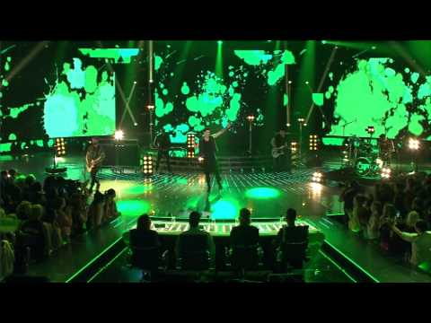 The Script performs 'Paint The Town Green' - The X Factor NZ on TV3 - 2015