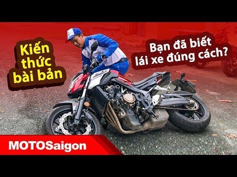 Mê xe moto nên xem: Kiến thức & Kỹ năng lái xe an toàn bài bản nhất dành cho Biker
