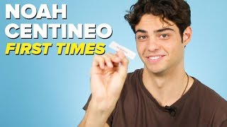 Noah Centineo Tells Us About His First Times Video