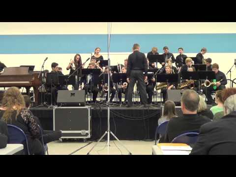 Newtown High School Gold Jazz Band March 14, 2015