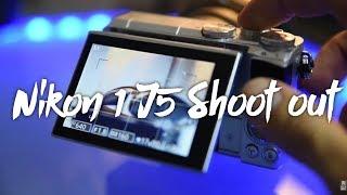 NIKON 1 J5 Photoshoot SHOOTOUT test with NIKON d750