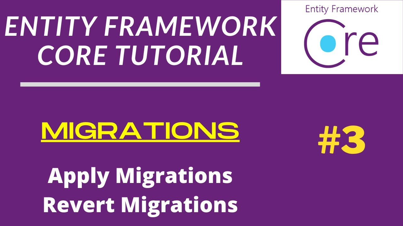 Migrations   Entity Framework Tutorial   Dotnet