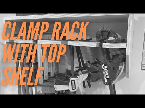 Making a Rack for Clamp Storage