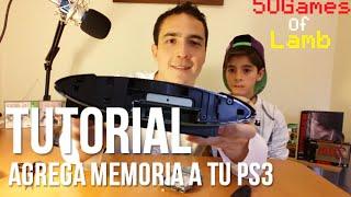 Cómo aumentar la memoria de una PS3 Slim de 12GB