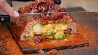 This must be the tastiest Bacon Meatloaf!!