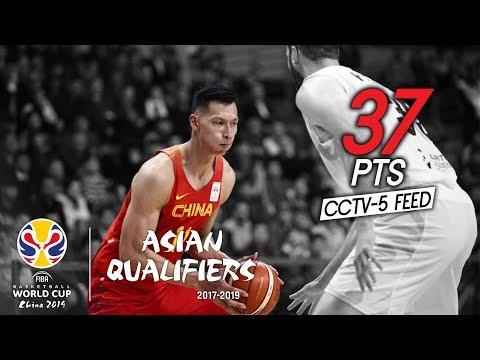 易建联 (Yi Jianlian) 37 Pts Full Highlights vs New Zealand Fiba World Cup Qualifiers (23.02.18) 央五转播