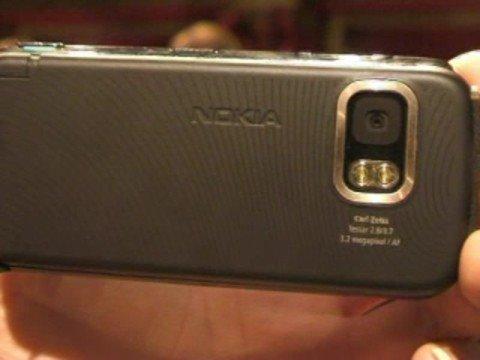 Nokia 5800 Xpress Music mobile phone (Tube)