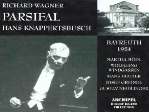 Hans Hotter : Amfortas : Erbarmen Knappertsbusch 1954  Parsifal  Wagner