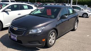 Gray 2014 Chevrolet Cruze 2LT Review Oshawa ON - Roy Nichols Motors Ltd