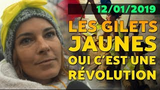 🔥 RÉVOLUTION ! LES GILETS JAUNES - 12/01/2019 (with English subtitles)