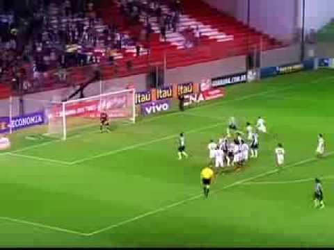 Ronaldinho Gaúcho faz 2 gols de falta contra o Fluminense, Atletico MG 2 x 2 Fluminense 04/09/2013