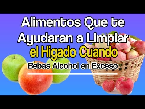 Alimentos que te ayudaran a limpiar el higado cuando bebas alcohol en exceso youtube - Alimentos que curan el higado ...