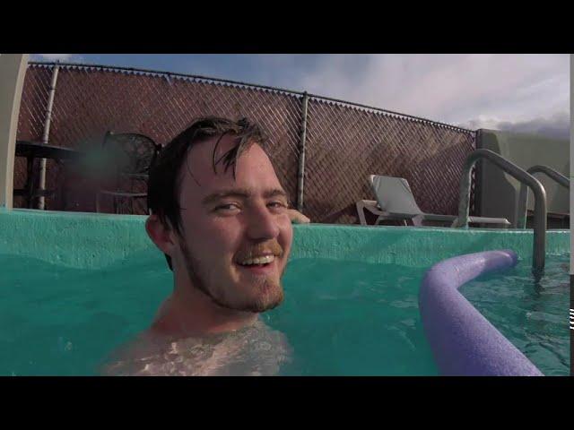 Swimming @Hooper Hot Springs, Hooper, CO 2020
