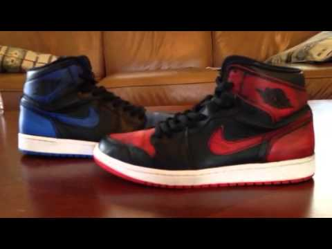huge selection of 47445 01be7 Air Jordan 1 x Sb Lance Mountain - YouTube