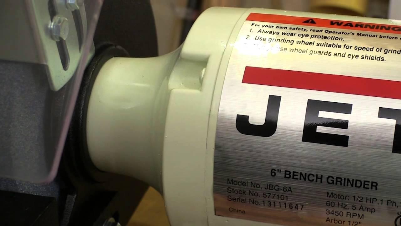 Jet 6 Quot Shop Bench Grinder Youtube