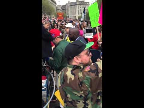 Washington D.C. Civil Rights Lawyer April 2, 2016 Cannabis Smoke In