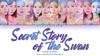 Download lagu IZ*ONE (아이즈원) - Secret Story of the Swan (환상동화) [HAN|ROM|ENG Color Coded Lyrics]