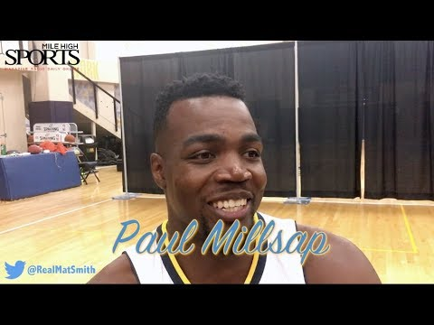 FACE to FACE w/ Mat Smith: Paul Millsap (Media Day)