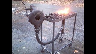 Home Made Coal Forge