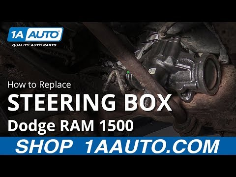 How to Replace Steering Box 94-02 Dodge RAM 1500