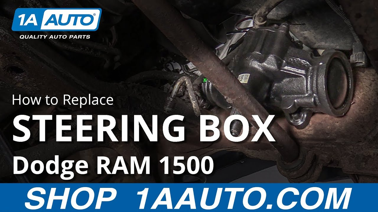 How To Replace Steering Box 94 02 Dodge Ram 1500 Youtube