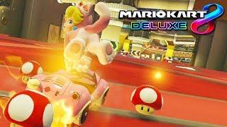 MARIO KART 8 DELUXE: ¡LA COMBINACIÓN DE PEACH FELINA! | Nintendo Switch