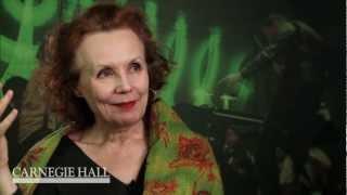 "Kaija Saariaho on her Ingmar Bergman-inspired ""Laterna magica"""