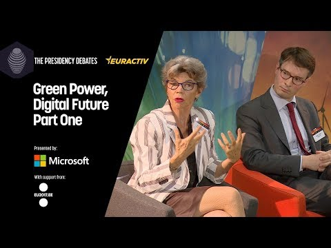 The Presidency Debates: Green power, Digital Future - Part One