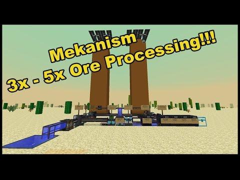 Mekanism 3x - 5x Ore Processing!!