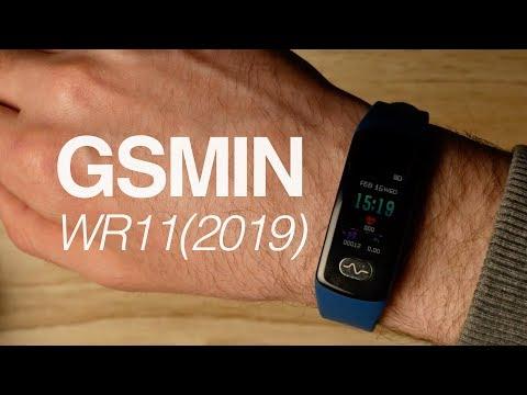 Обзор GSMIN WR11(2019) - фитнес браслет с измерением давления, пульса и ЭКГ