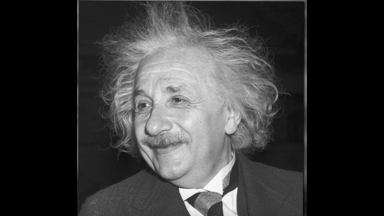Einstein's Famous Hair - YouTube
