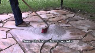 Gator Dust Application