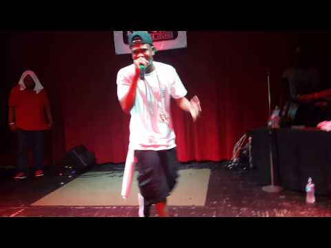 Chamillionaire live at Live Oak in Fort Worth