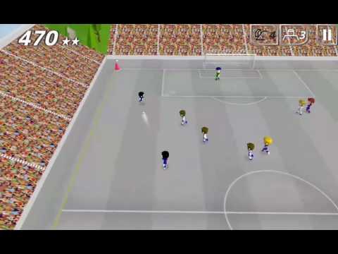 Swipy Soccer replay: 480 points