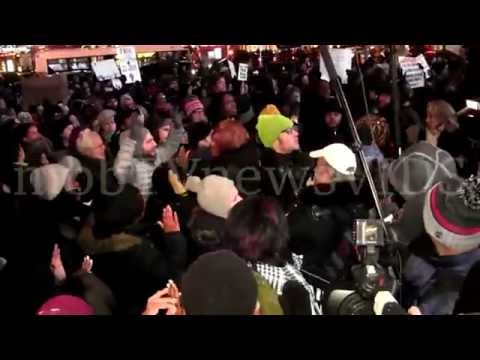 Eric Garner protest @ the Barclay center p2